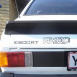 Ford Escort RS 2000 mærker